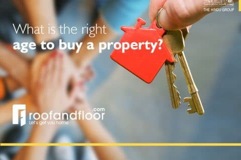 While there is no right age to buy property - usually 30-35 years is a good time financially