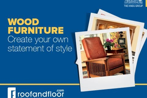 Wood furniture: Create your own statement of style