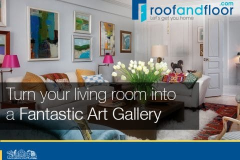 9 ways to turn your living room into an art gallery