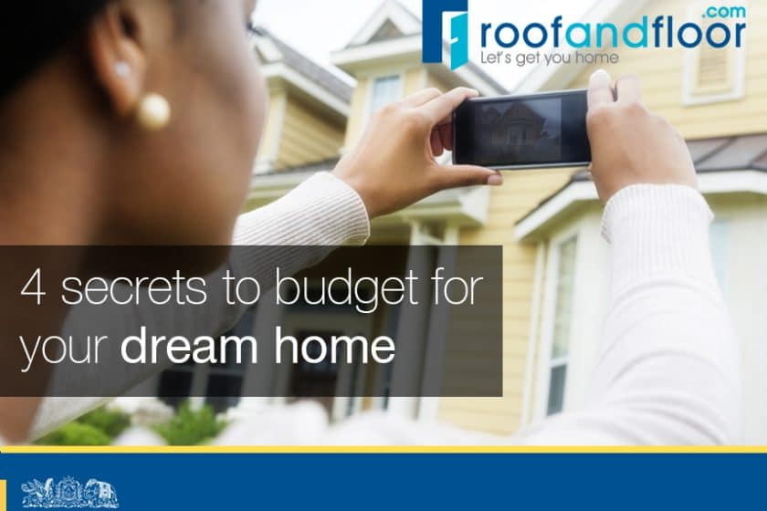4 secrets to budgeting for a home purchase