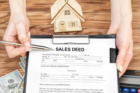 sale deed executed