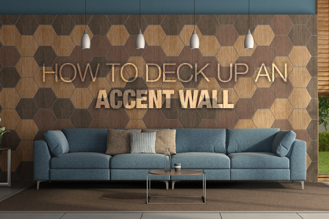 How to Deck up an Accent Wall