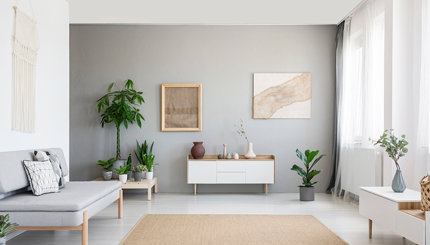 Tips for a Minimal Dual-Toned Home