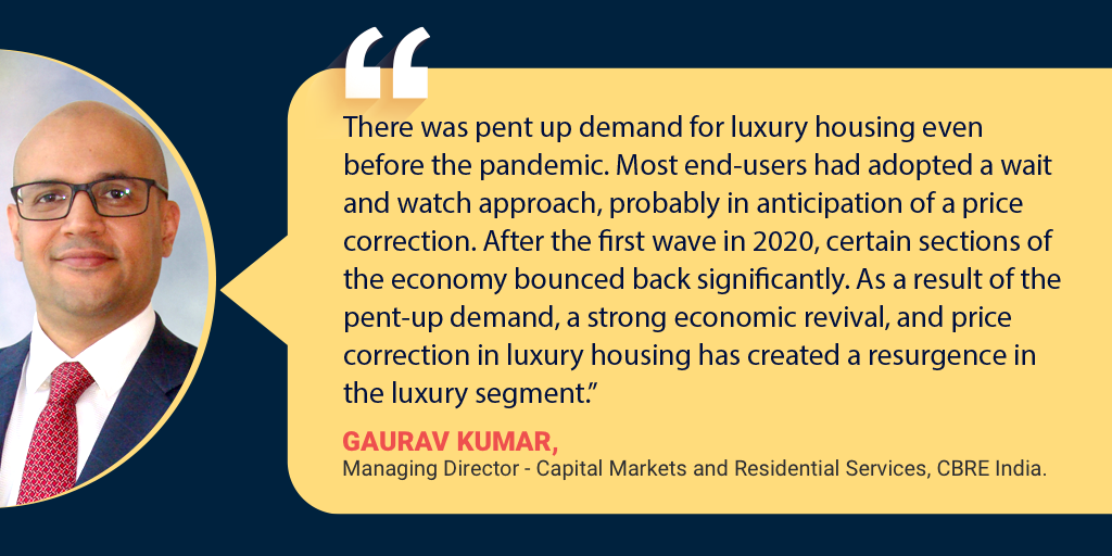 """""""Demand for Luxury Housing Will Continue to Surge"""""""
