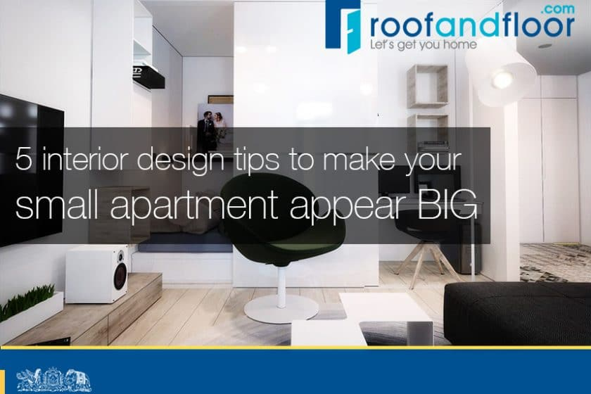 5 interior design tips to maximise space for apartment living